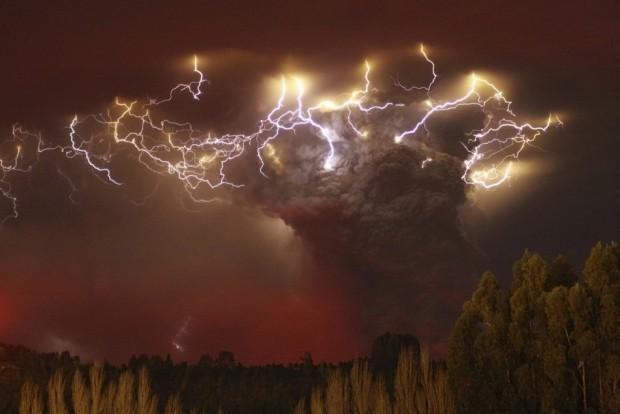 Έκρηξη του ηφαιστείου Puyehue-Cordon της Χιλής.