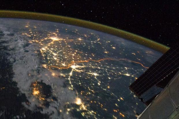 Φωτογραφία στα σύνορα Ινδίας-Πακιστάν (από τη NASA)