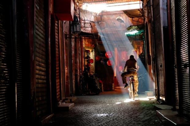 Ταξιδιώτης στο Μαρακές