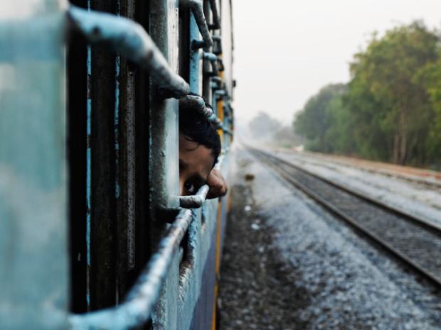 Από πρόσφατο ταξίδι με τρένο