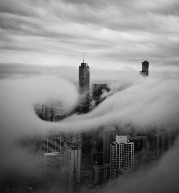 Τραβήχτηκε στο 95ο όροφο του κτιρίου John Hancock, στο Σικάγο
