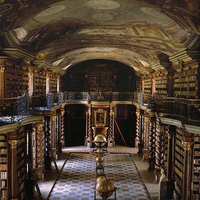 Η Εθνική Βιβλιοθήκη της Τσεχίας.