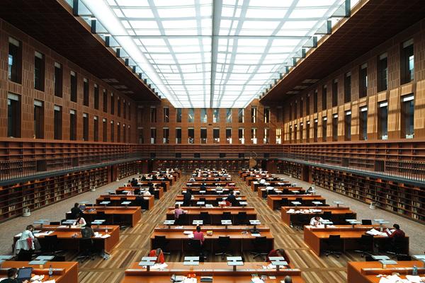 Πανεπιστημιακή Βιβλιοθήκη του Saxon, Γερμανία