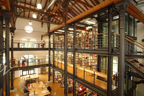 Βιβλιοθήκη  Εφαρμοσμένων Επιστημών του Πανεπιστημίου της Konstanz, Γερμανία