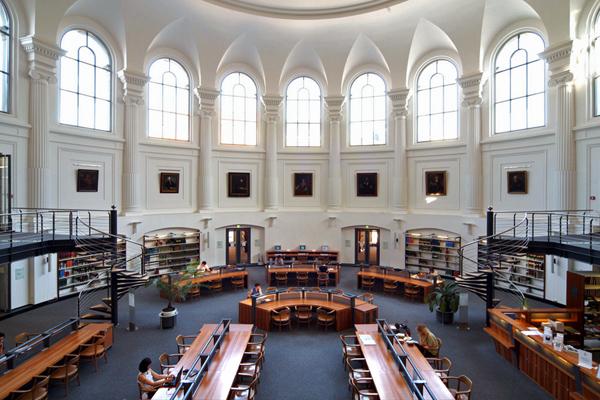 Βιβλιοθήκη του πανεπιστημίου της Λειψίας , Αυστρία