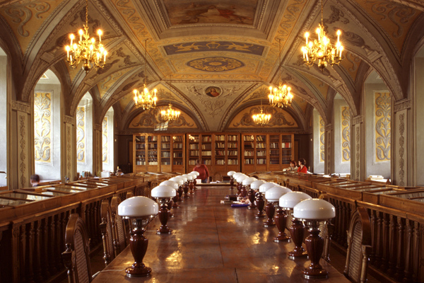Βιβλιοθήκη του πανεπιστημίου του Βίλνιους , Λιθουανία